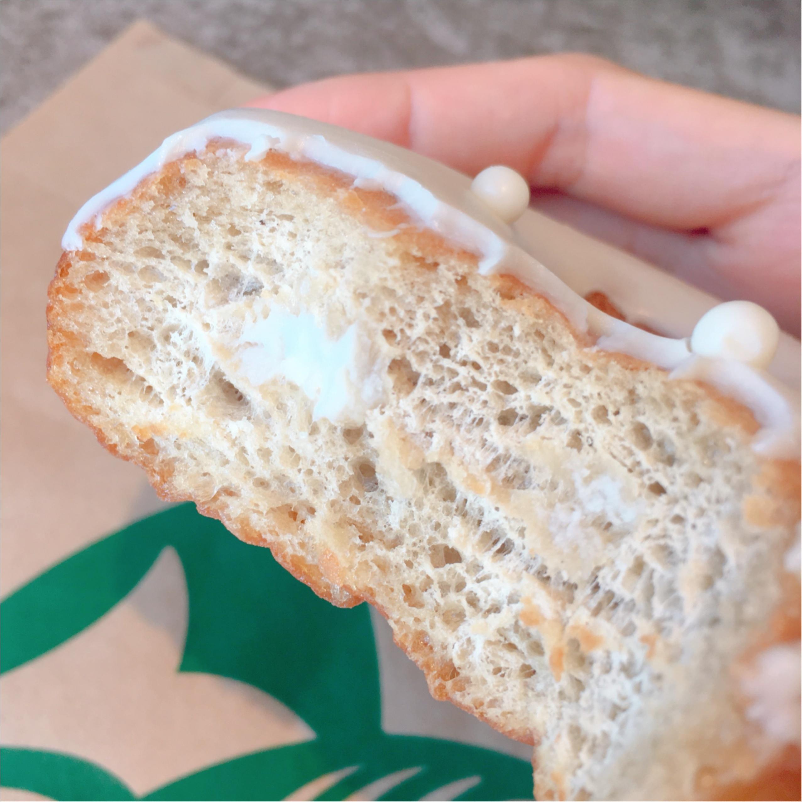 実は充実している【スタバ】のフードメニューに注目★《かわいい×おいしい》が実現したミルククリームドーナツが美味❤️_2