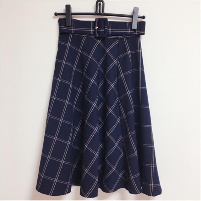今年の流行!♥ミディ丈スカートで作る♡通勤コーデ4選(っ´ω`c)♡_1