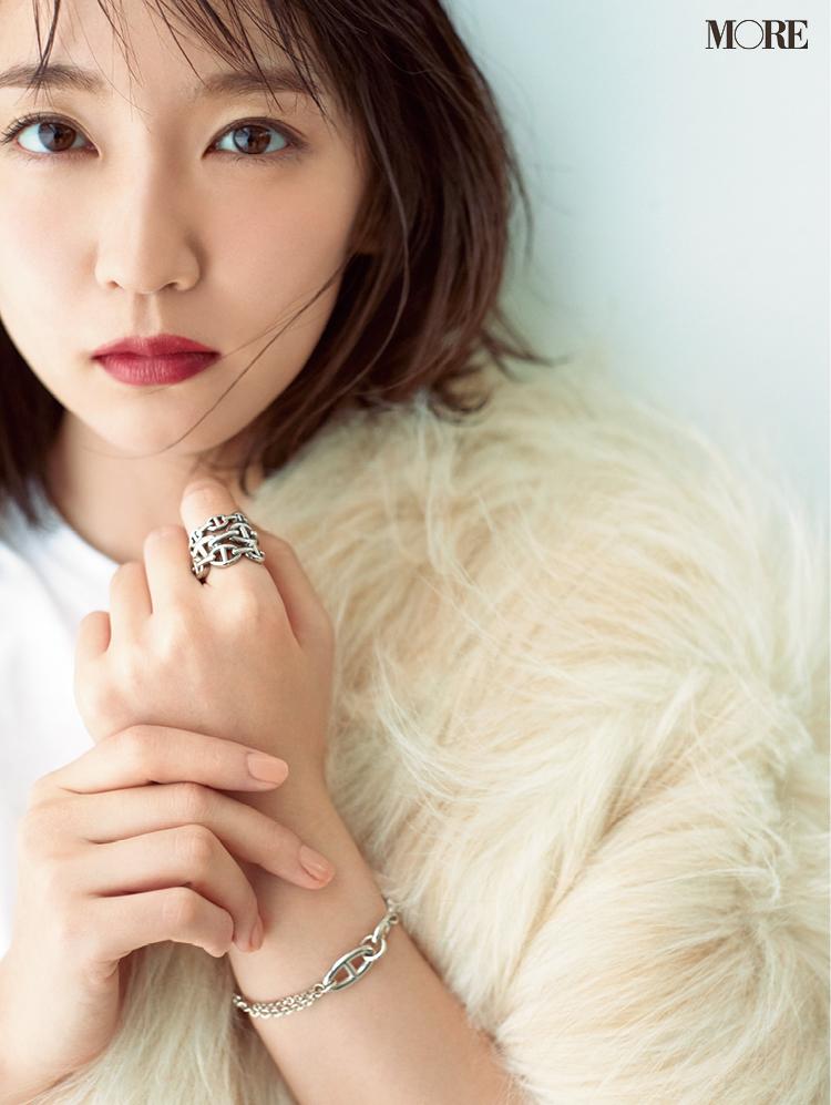 吉岡里帆さんの想い出のジュエリー。「お気に入りは人生で初めて自分に贈ったネックレス」_3