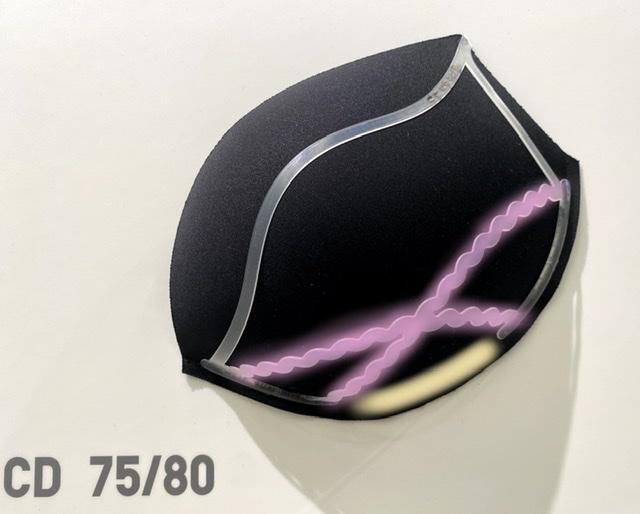 ワイヤレスブラシェイプリフトに内蔵されている樹脂パーツ