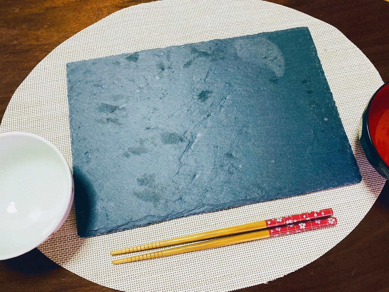 【ダイソー】料理が映える!黒い天然石で作られた《スレートプレート》が超使える♡_2