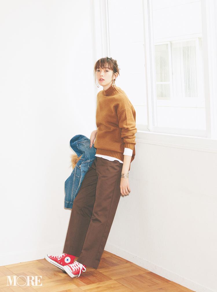 2018年秋のファッション ニット37