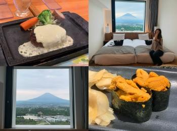 【富士山ビュー】御殿場にあるHOTEL CLADに宿泊♡アウトレットグルメも!