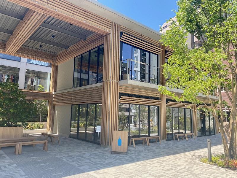 「ブルーボトルコーヒー 渋谷カフェ」外観