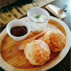 【岐阜グルメ】ほのぼのカフェでまったりタイム*絶品スコーンが味わえる隠れ家カフェ「こやぎのおうち」(443 まゆ
