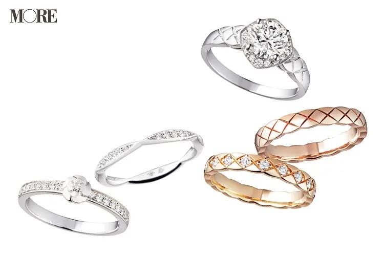 結婚指輪におすすめのシャネルのココクラッシュとカメリアコレクションのリング