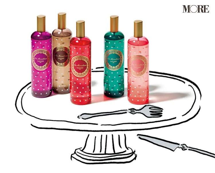 人気ブランドのおすすめの香水の『レ・メルヴェイユーズ ラデュレ』オーデコロン