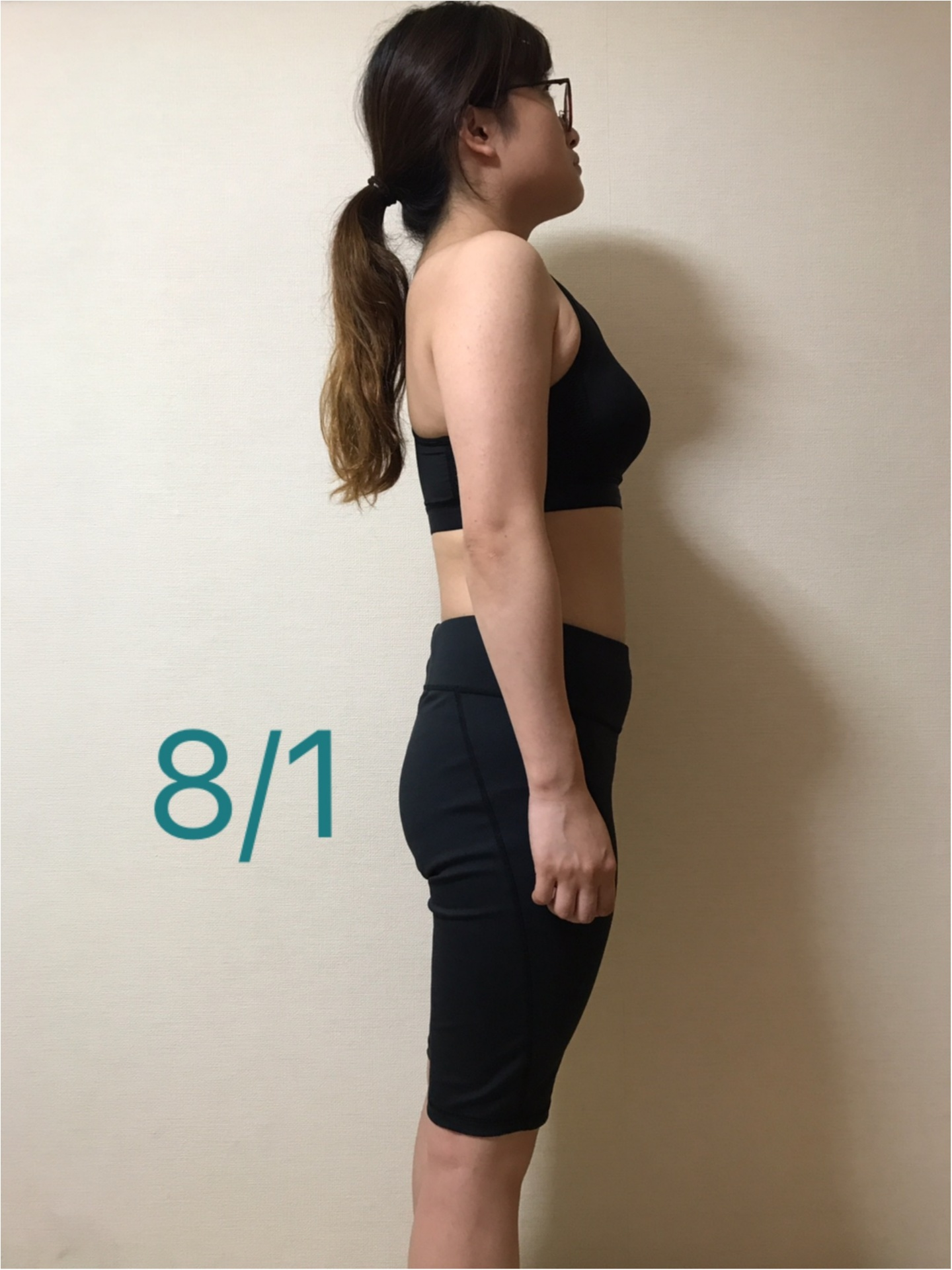 「薄くなった!」と言われるので、横から比べてみました♪【#モアチャレ 7キロ痩せ】_3_3