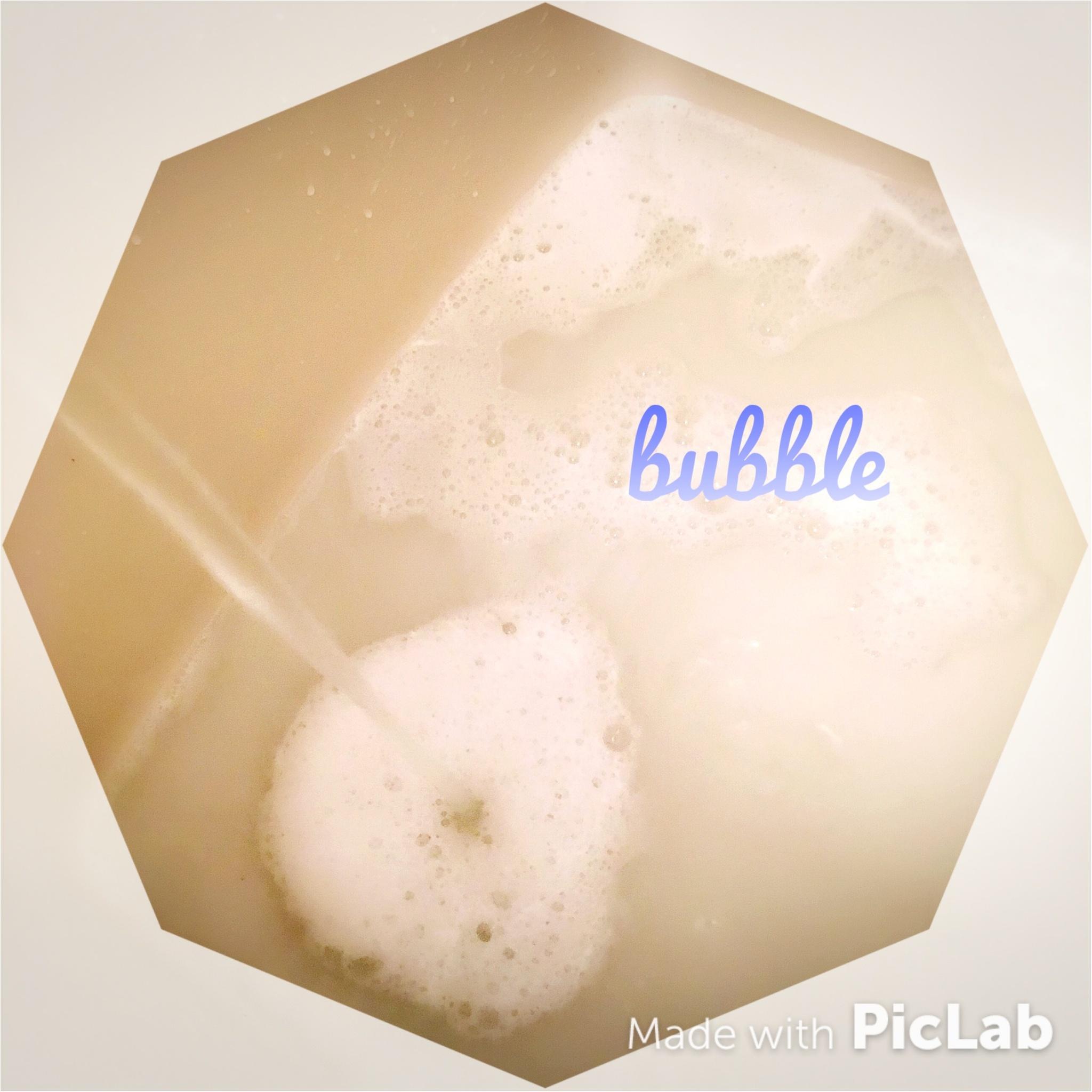 """一石二鳥!!""""もっちり肌""""が実現する、今日からできる簡単バブルバスの作り方♡_3"""