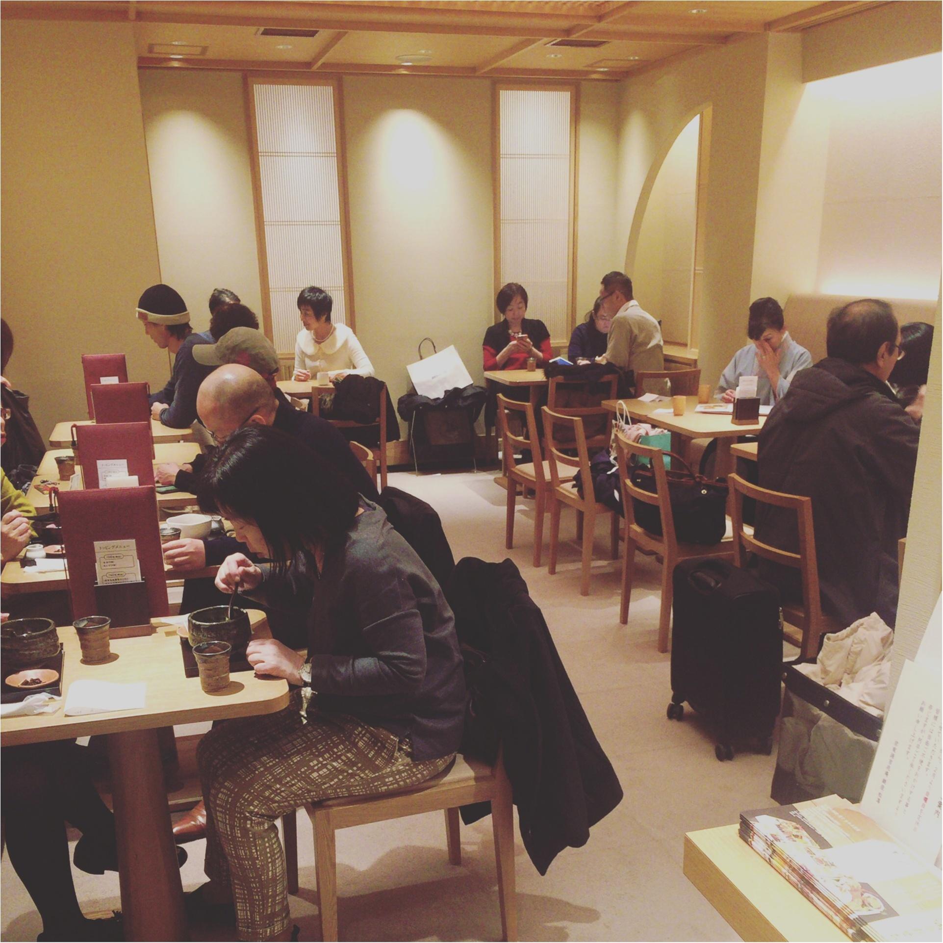 【銀座】和菓子屋「源 吉兆庵」の茶寮があるって知ってる?抹茶ぜんざい♡≪samenyan≫_3