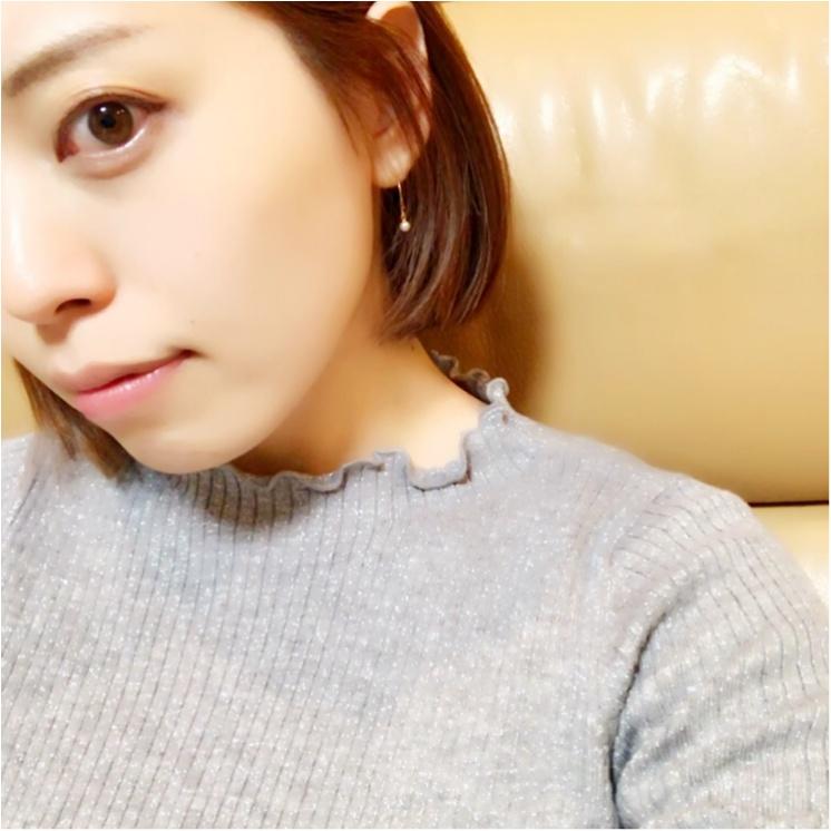 ユニクロ春の新作♡【シャイニーリブフリルネックセーター】が超優秀!!_3