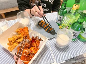 【時短で簡単!】韓国 night @home!!