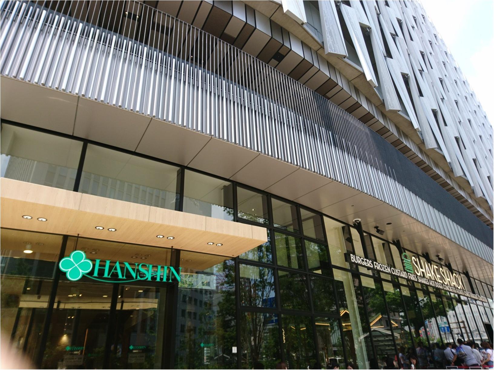 ≪大阪・梅田≫百貨店がリニューアルオープン☆関西初出店・話題のバーガーを食べてきました!_2