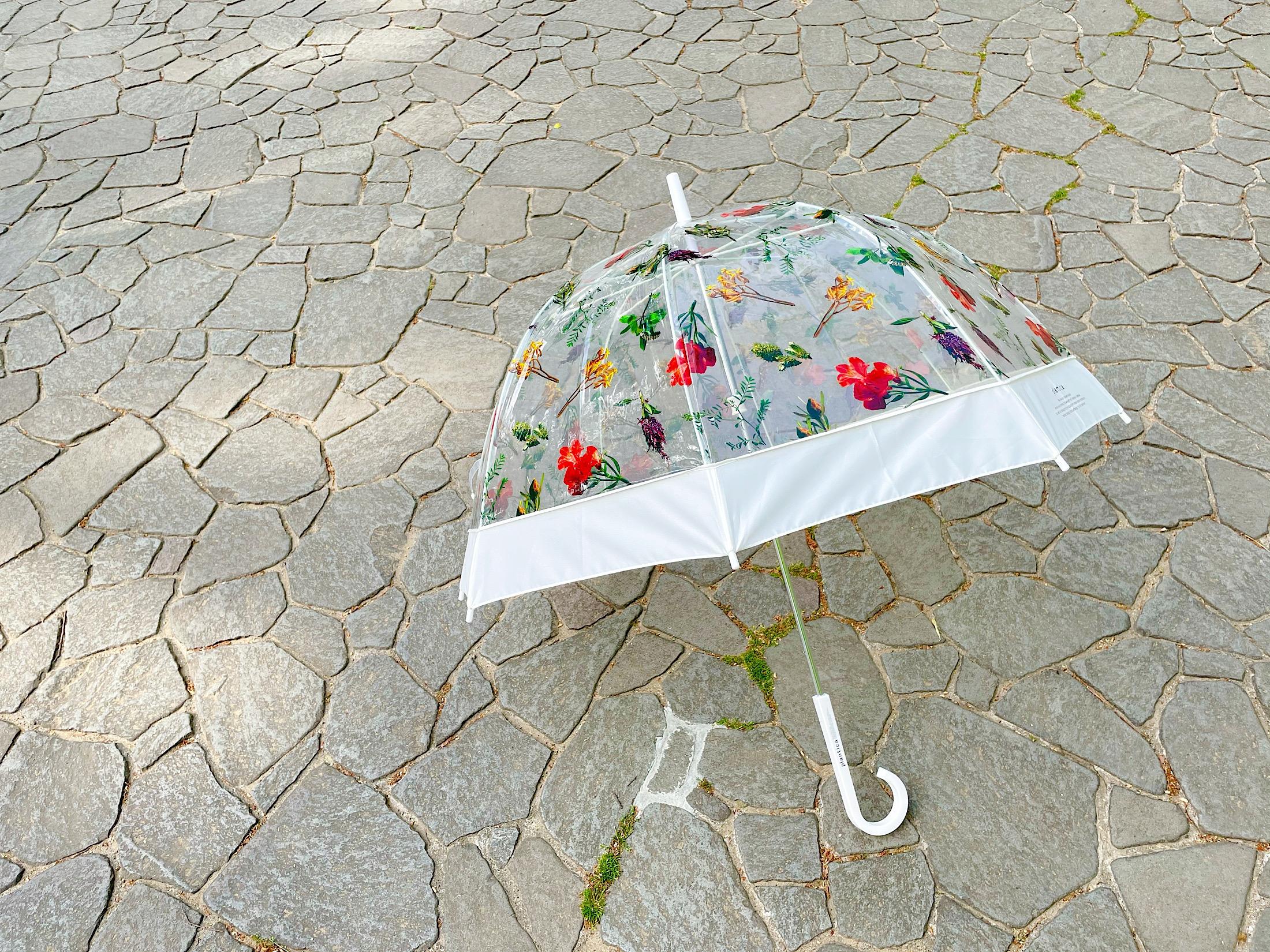 【雨空に花が咲く!?】《フラワーアートとコラボした傘》がおすすめ♡_4