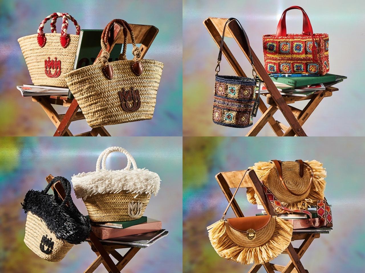 『ミュウミュウ』夏の新作はロマンチック&ノスタルジー♡ バスケットバッグやクロシェバッグも!_1