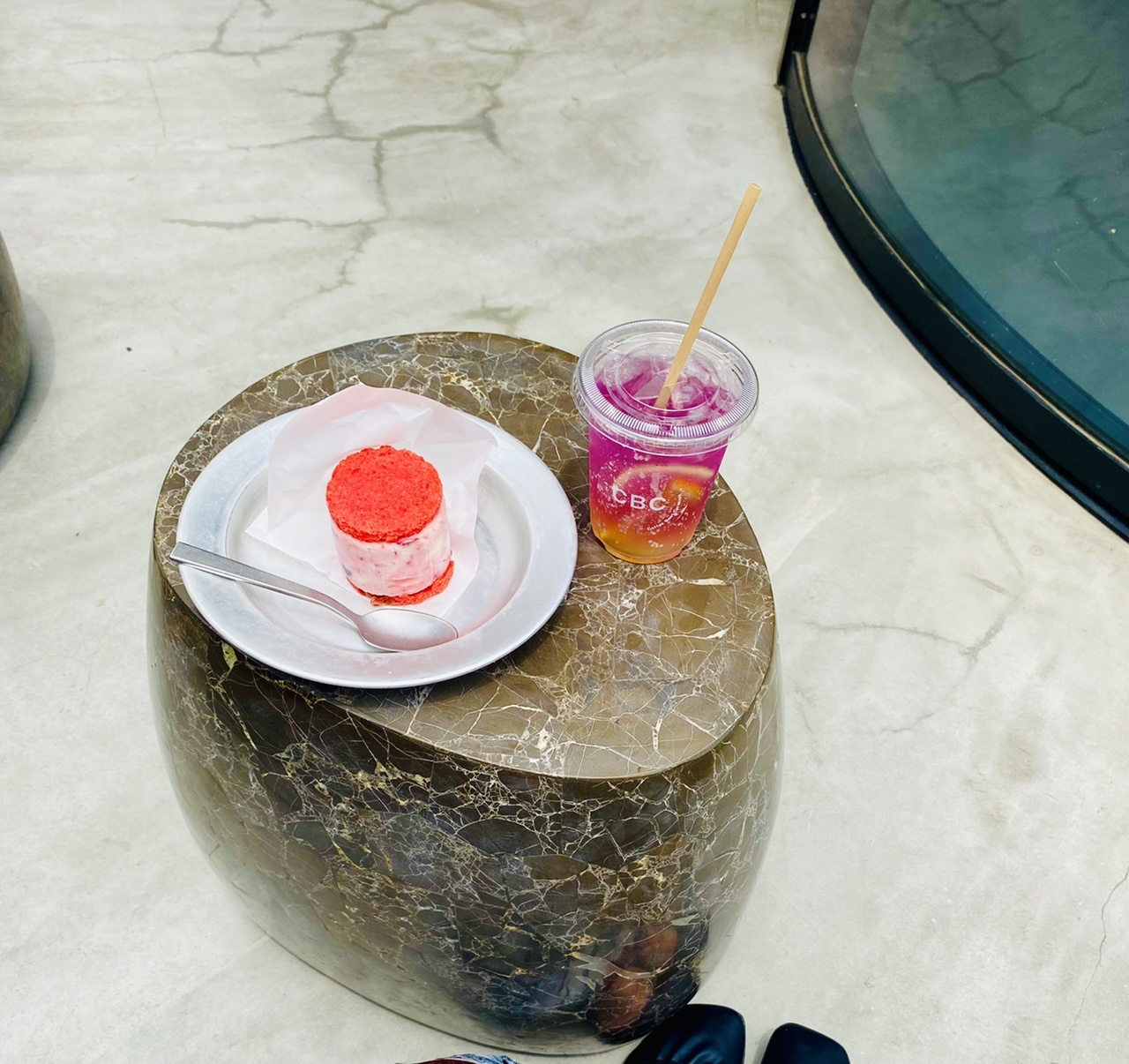【表参道カフェ】可愛さ満点!話題のアイスサンドが絶品♡焼肉KINTAN監修《CBC》へ_7
