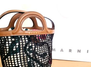 人気ブランド《夏のかごバッグ》バケツ型バッグでこなれ感【MARNI】