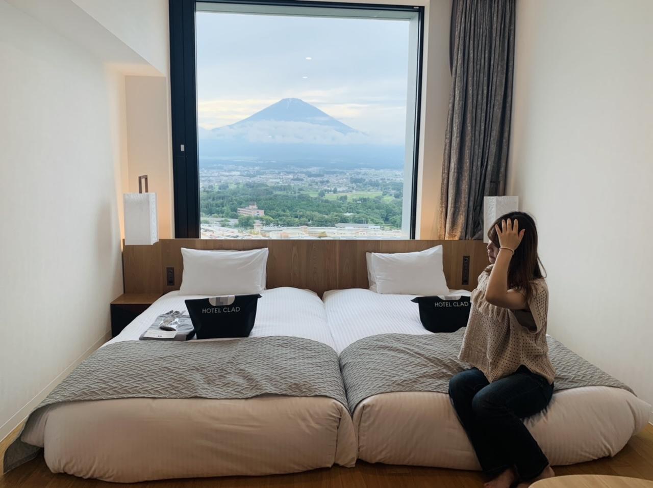 【富士山ビュー】御殿場にあるHOTEL CLADに宿泊♡アウトレットグルメも!_3