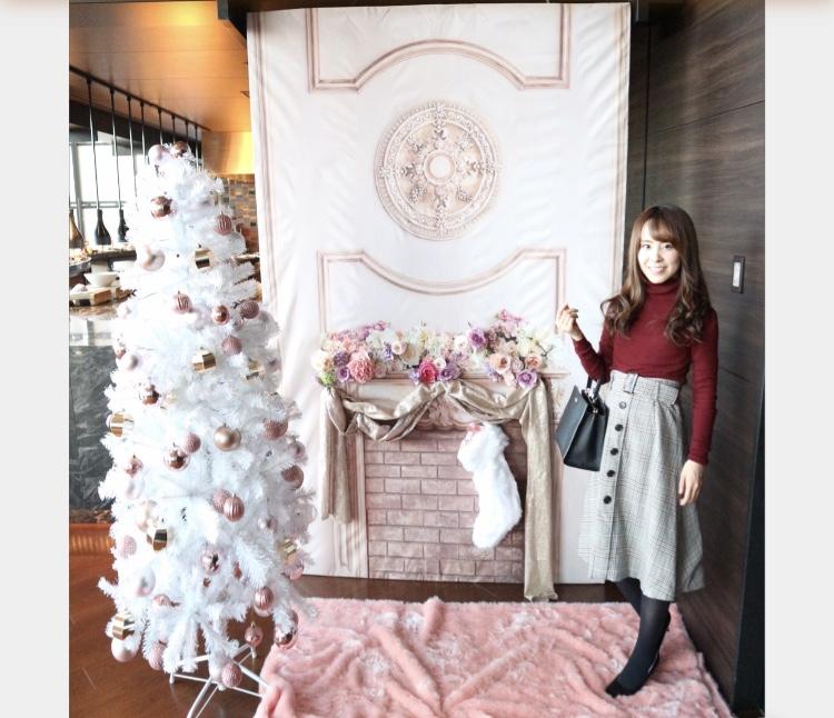 【コンラッド】ローズゴールドを基調とした空間でクリスマススイーツビュッフェ♡_23