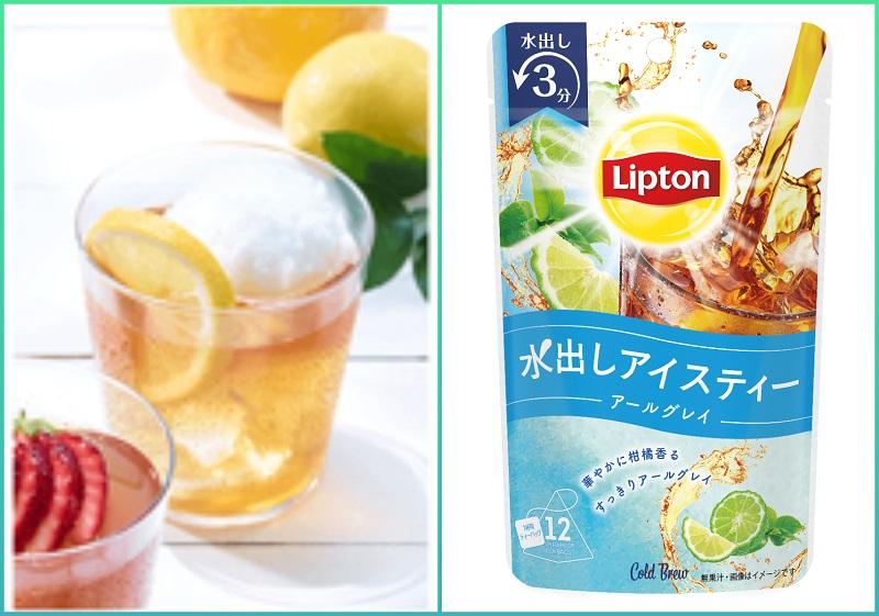 レモンシャーベットとリプトンアイスティーで作る、韓国で人気のおしゃれドリンク「フルーツエイド」レシピ