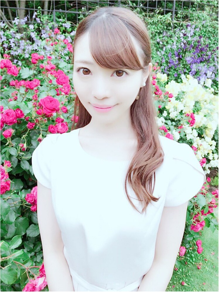 女の子の憧れ♡バラ園で素敵なひと時を、、(*^ω^*)_10