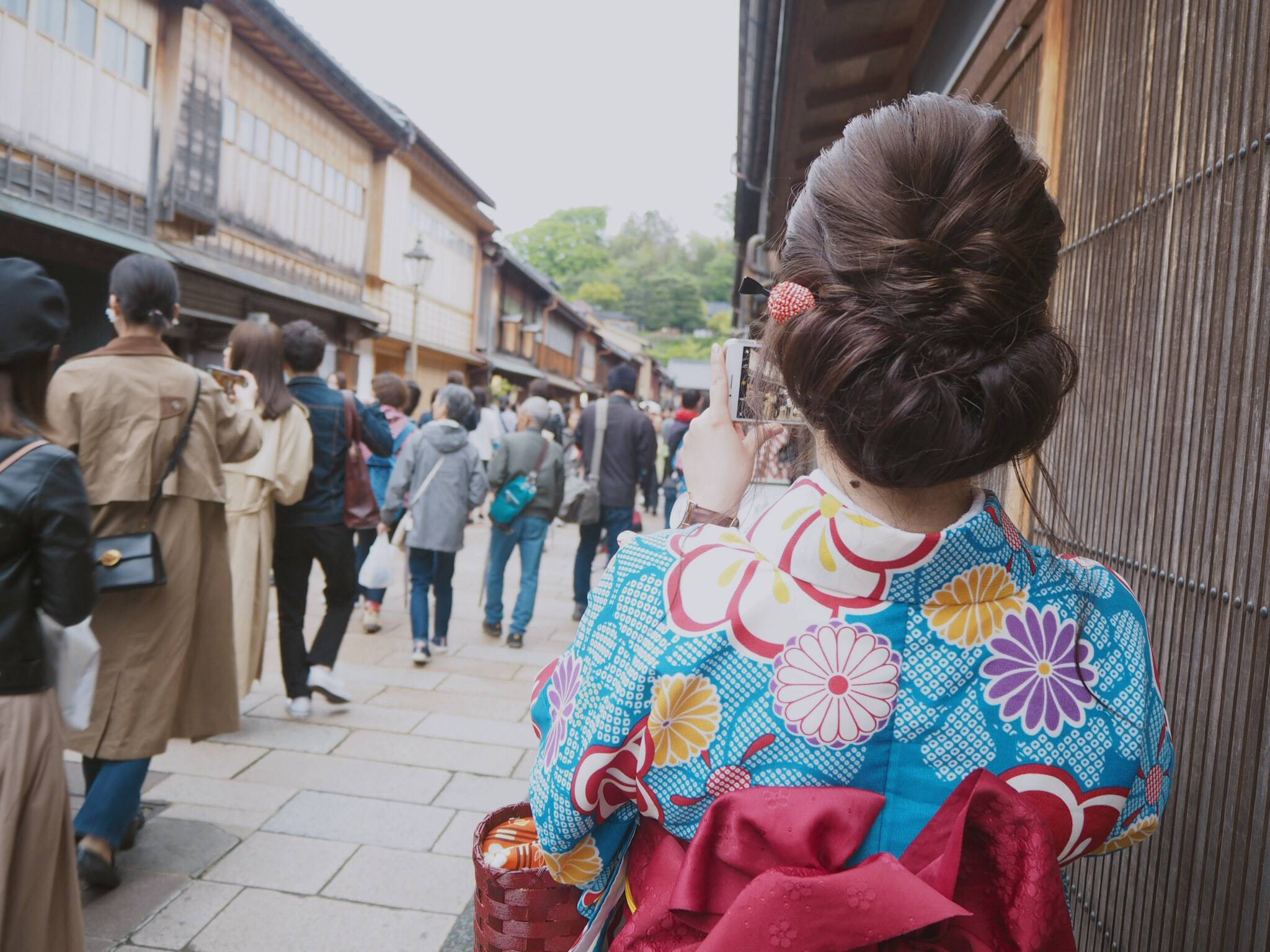 【金沢女子旅】1日目♡着物満喫コース《ひがし茶屋街/兼六園》_4