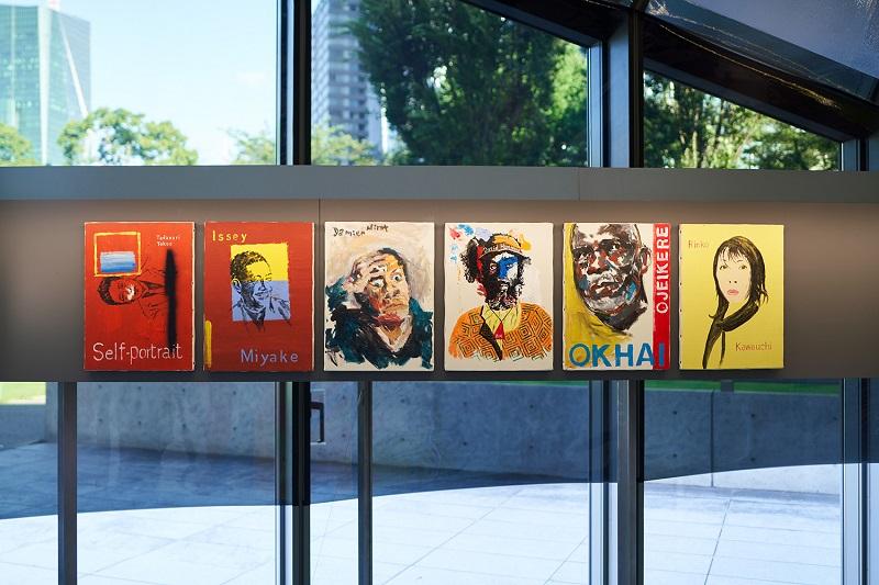 カルティエ現代美術財団 『横尾忠則:The Artists』 室内の様子