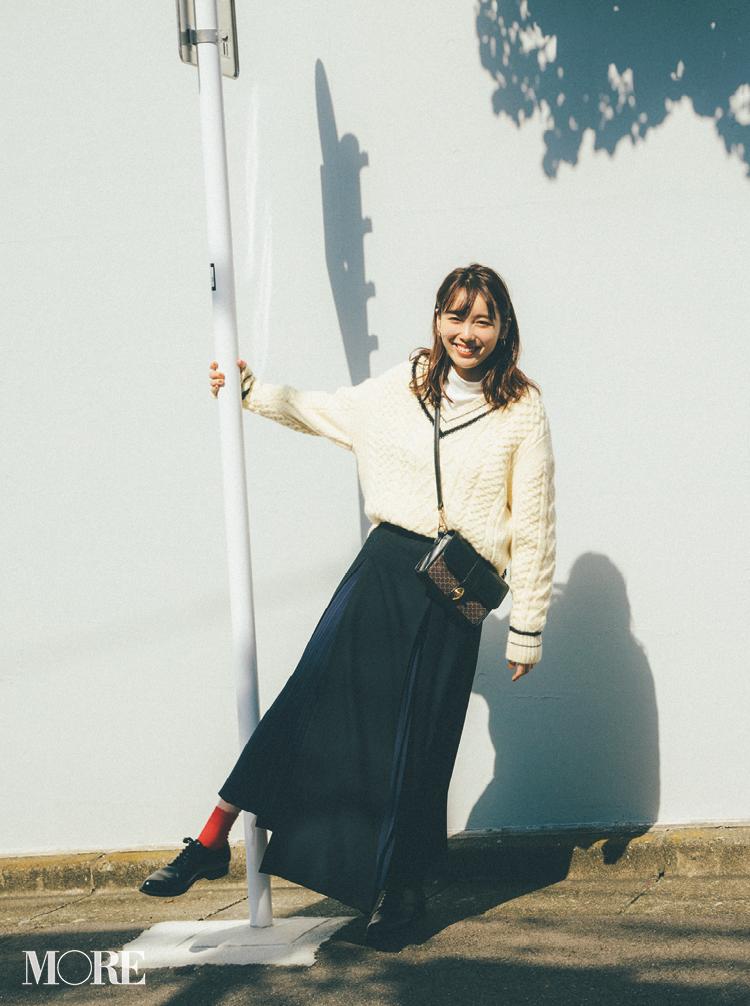 2018年秋のファッション ニット38