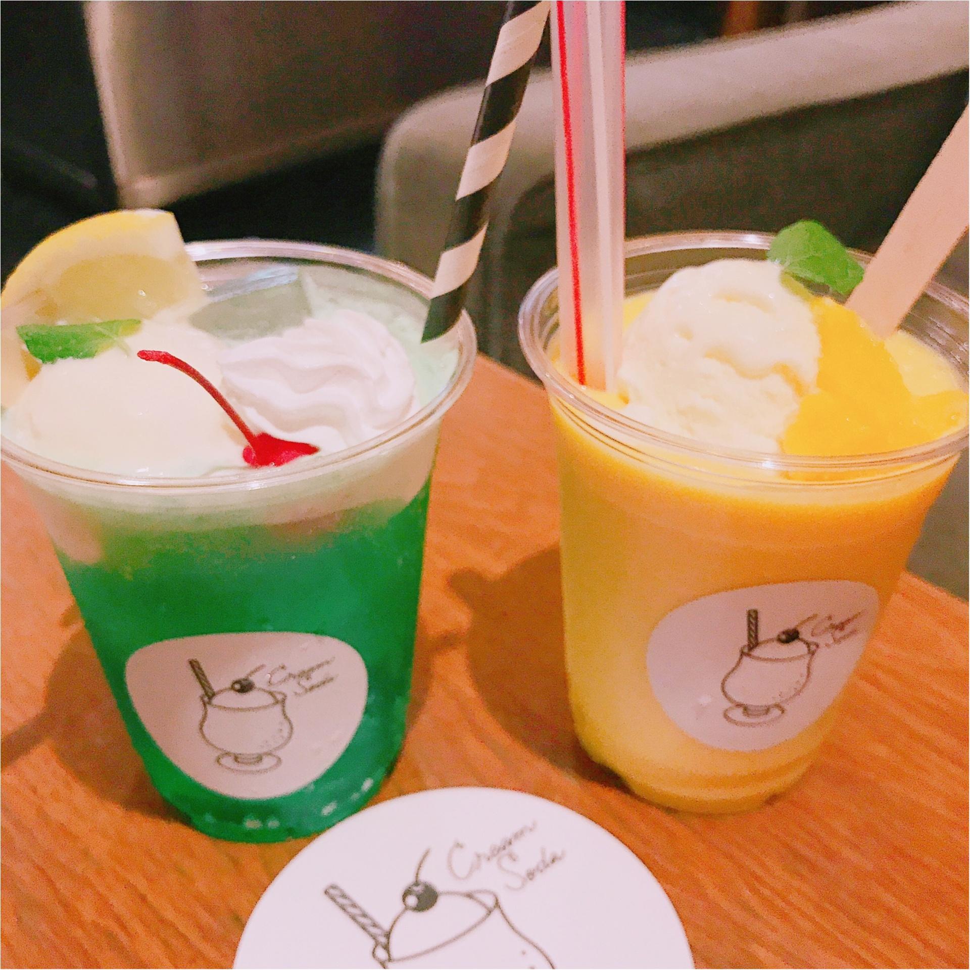 ★流行のクリームソーダ♪名古屋で飲むなら、まずココへ行くべし!★_4