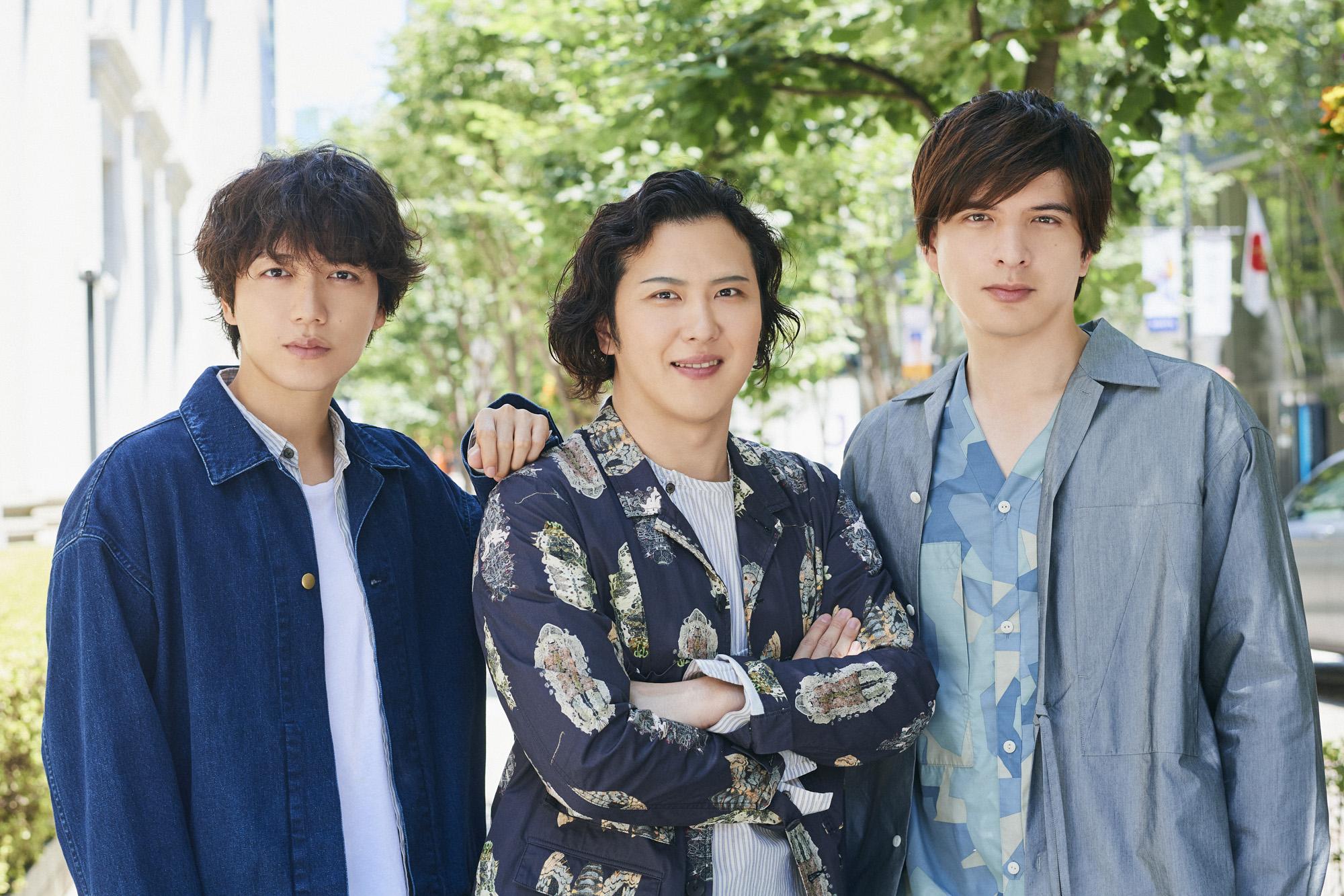 山崎育三郎さん、尾上松也さん、城田優さん