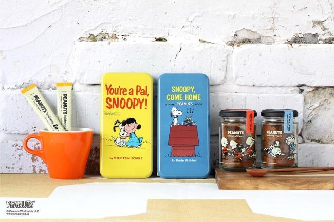 レトロな雰囲気のイラストがおしゃれ♬ 『PEANUTS』誕生70周年記念「スヌーピー コーヒー シリーズ」はいかが?_1