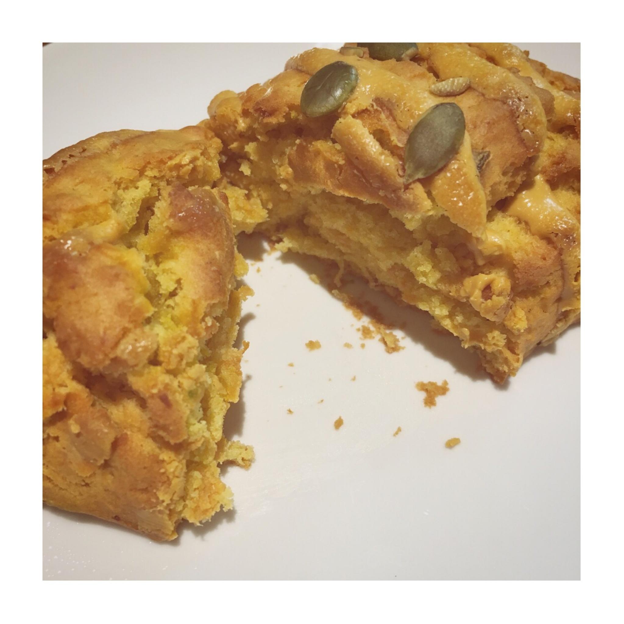《ほくほくの秋らしいおいしさ❤️》【スタバ】アメリカンスコーン パンプキンが美味☻_3