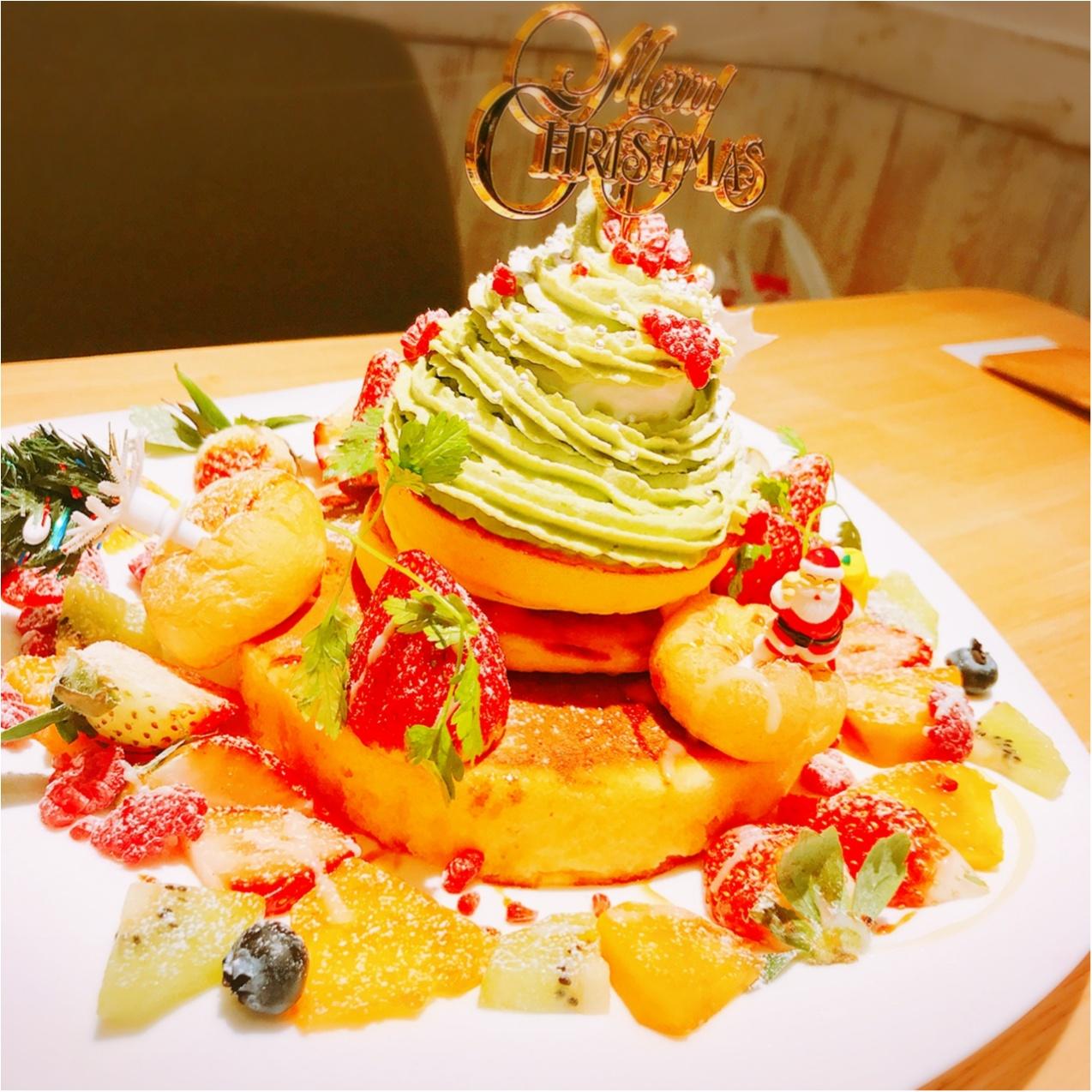 Xmas女子会におすすめ♡【cafe accueil】のフォトジェニックなクリスマスツリーパンケーキ!_4