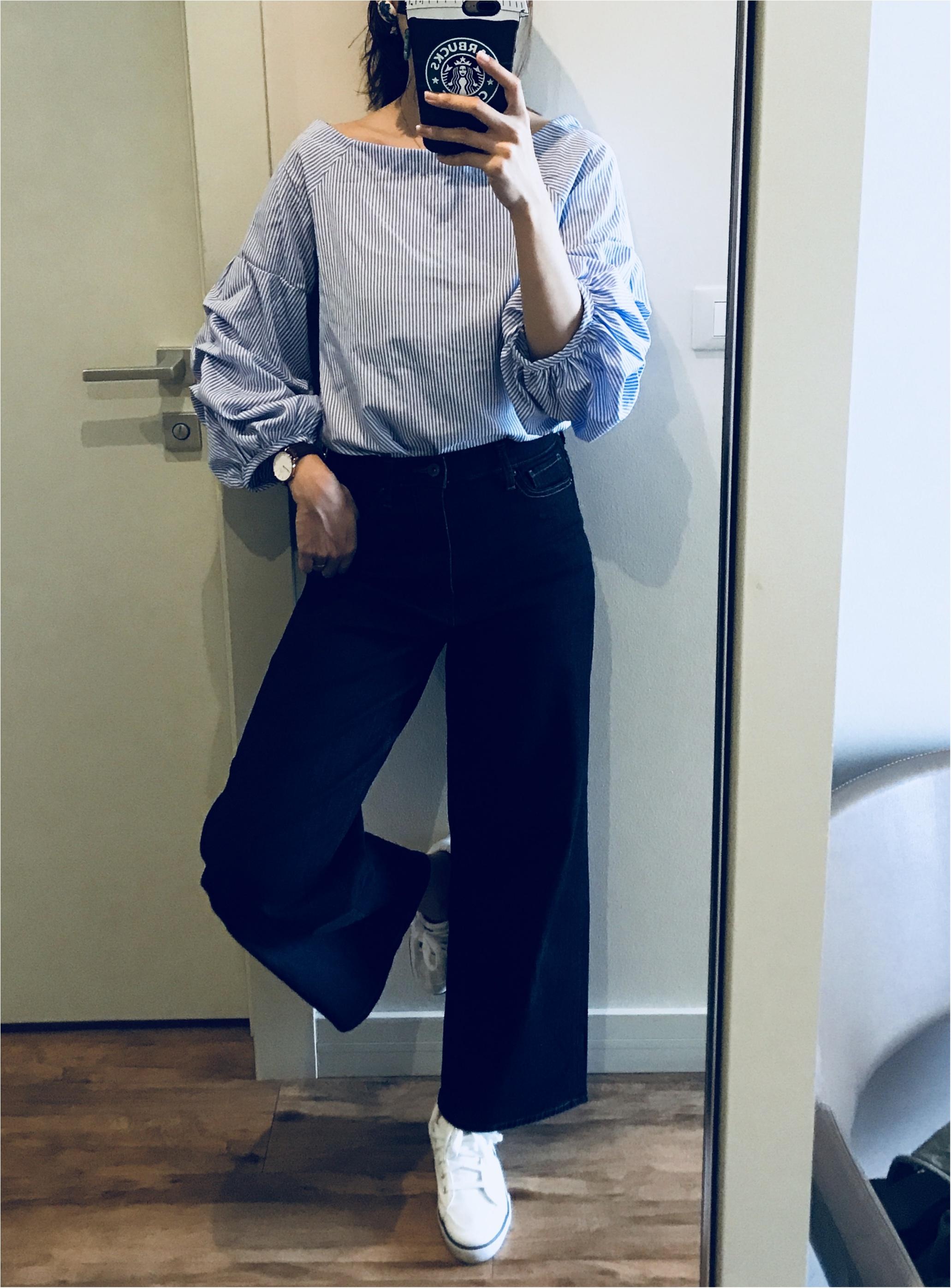【コーデ】オフショルの着方。スニーカーでも大人レディなオフショルコーデ♡_1