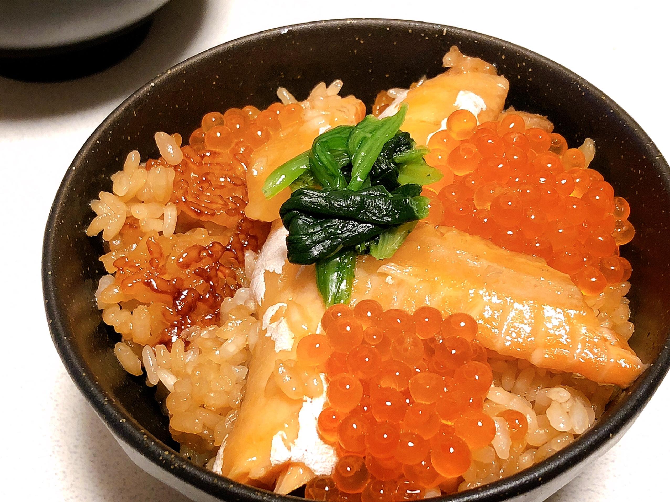 【簡単贅沢レシピ】お家で簡単に♩鮭といくらの親子炊き込みご飯( ´ ▽ ` )_4