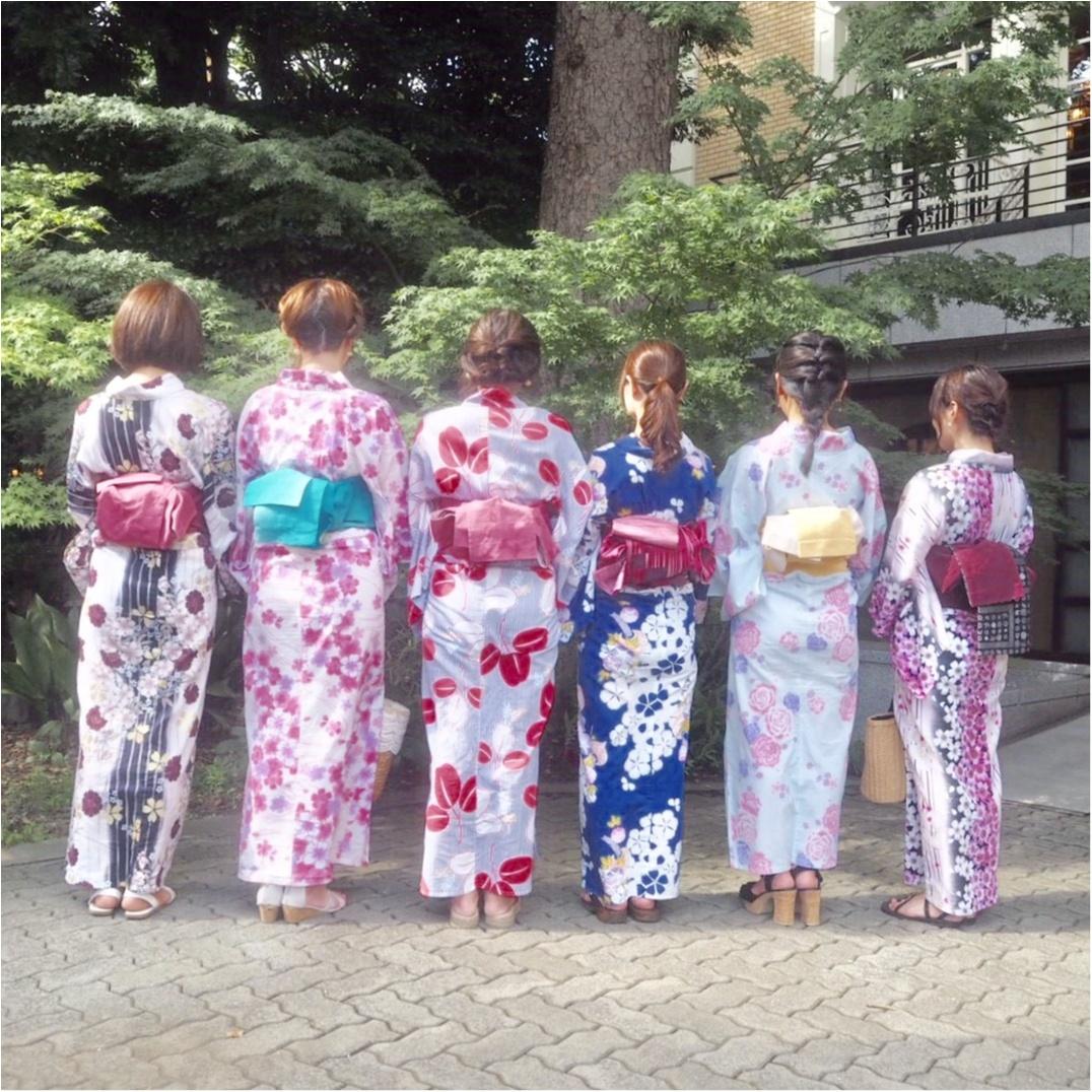 《ゆかたで散策♡》モアハピ女子会 in 川越♪_1