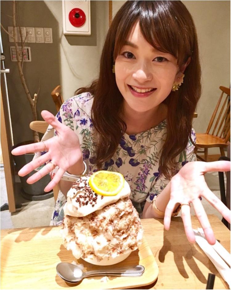 【くく からのご報告】&【東京グルメ】池袋で人気の《絶品大人のかき氷》❤️食べられるのは意外な〇〇店なんです!_10
