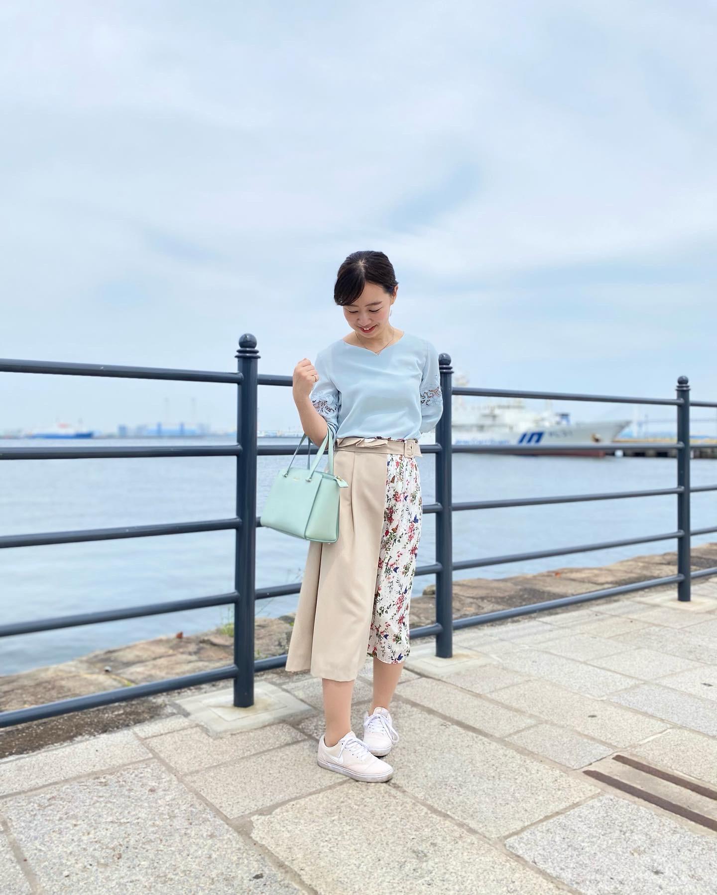 女子アナがよく着用しているTONALでお散歩コーデ_4