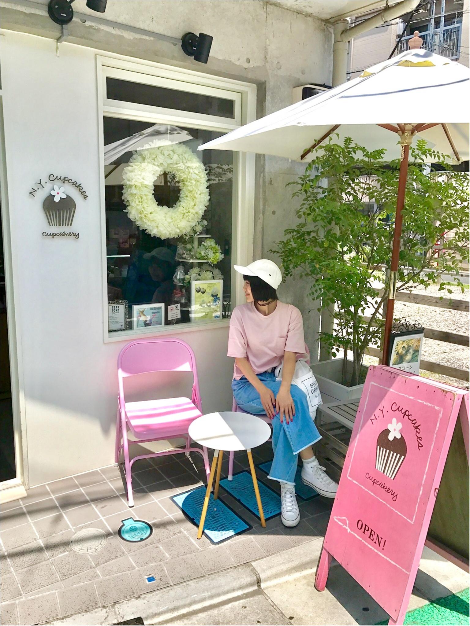 【FOOD】可愛いの大定番♥ 一度は行きたいニューヨークカップケーキ!_2