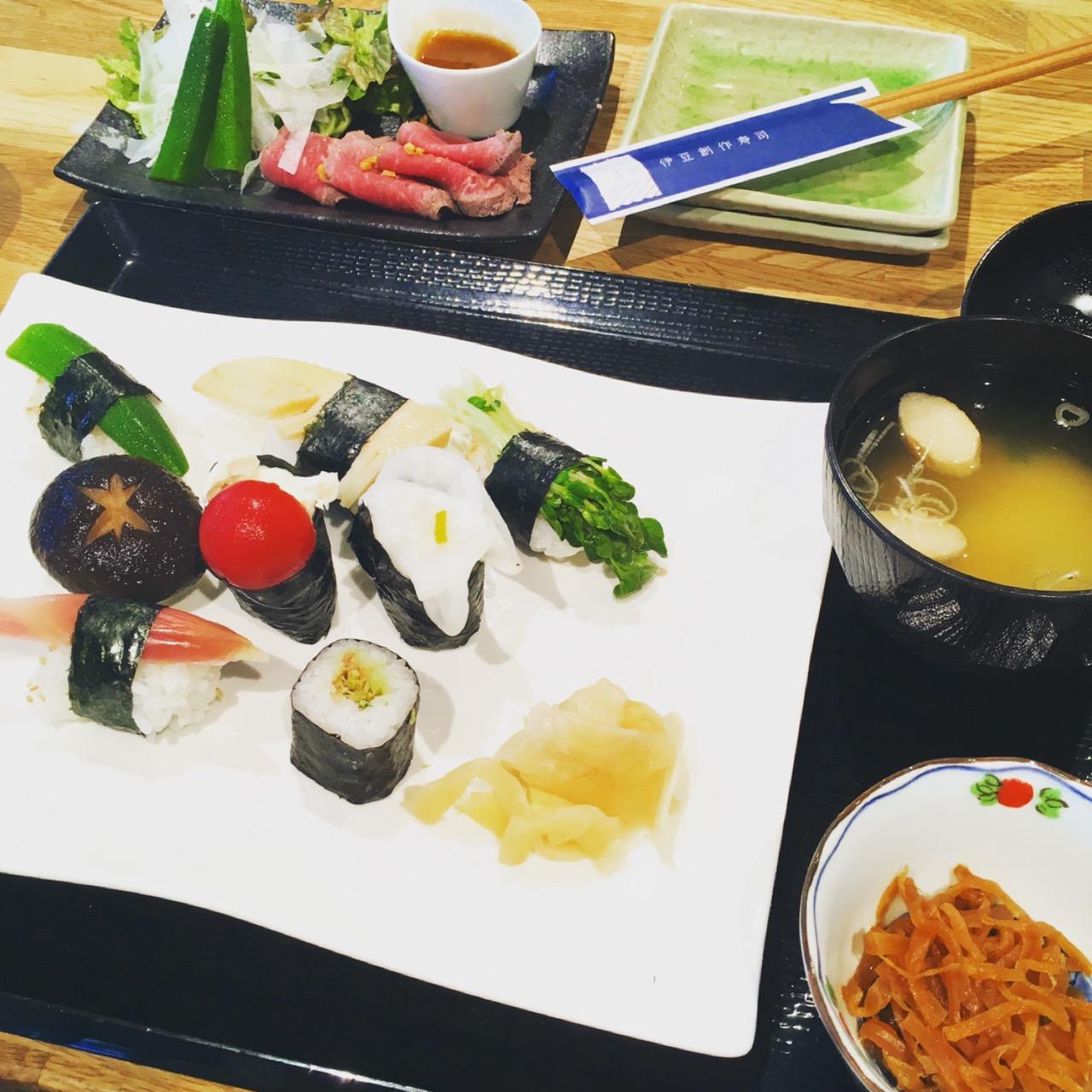 お魚が苦手でも大丈夫!フォトジェニックな野菜のお寿司を食べてきました♡_2