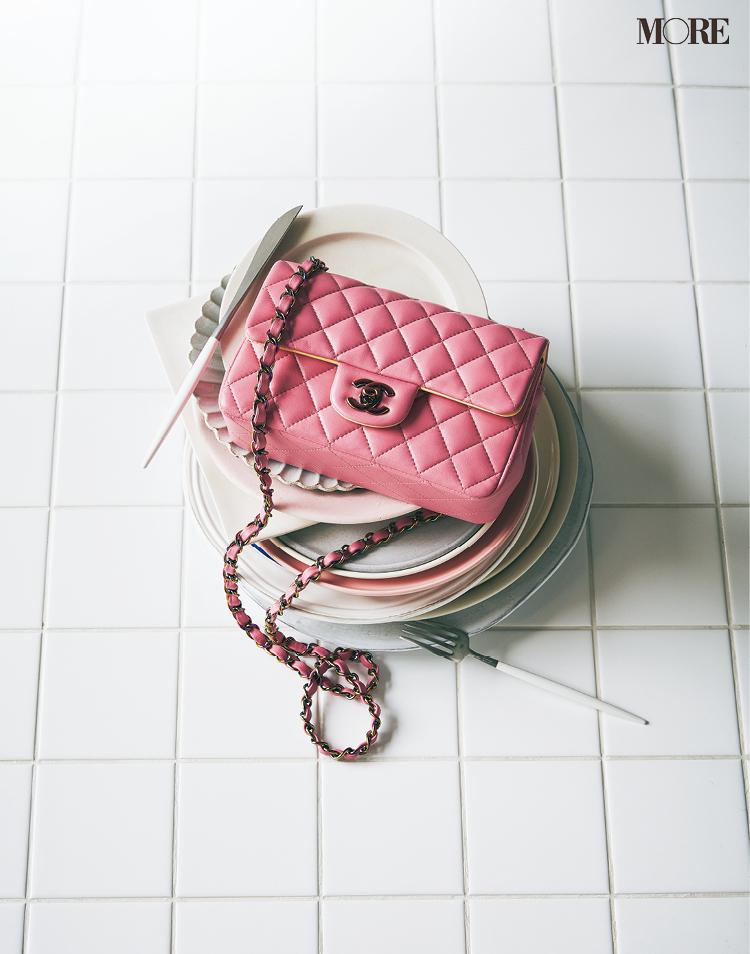 シャネルのピンク色新作バッグ