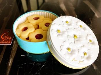【北海道お取寄せ♡Café de Zaza】大人気1年待ち⁉︎お花のジャムクッキーが美味しい❁可愛い❁
