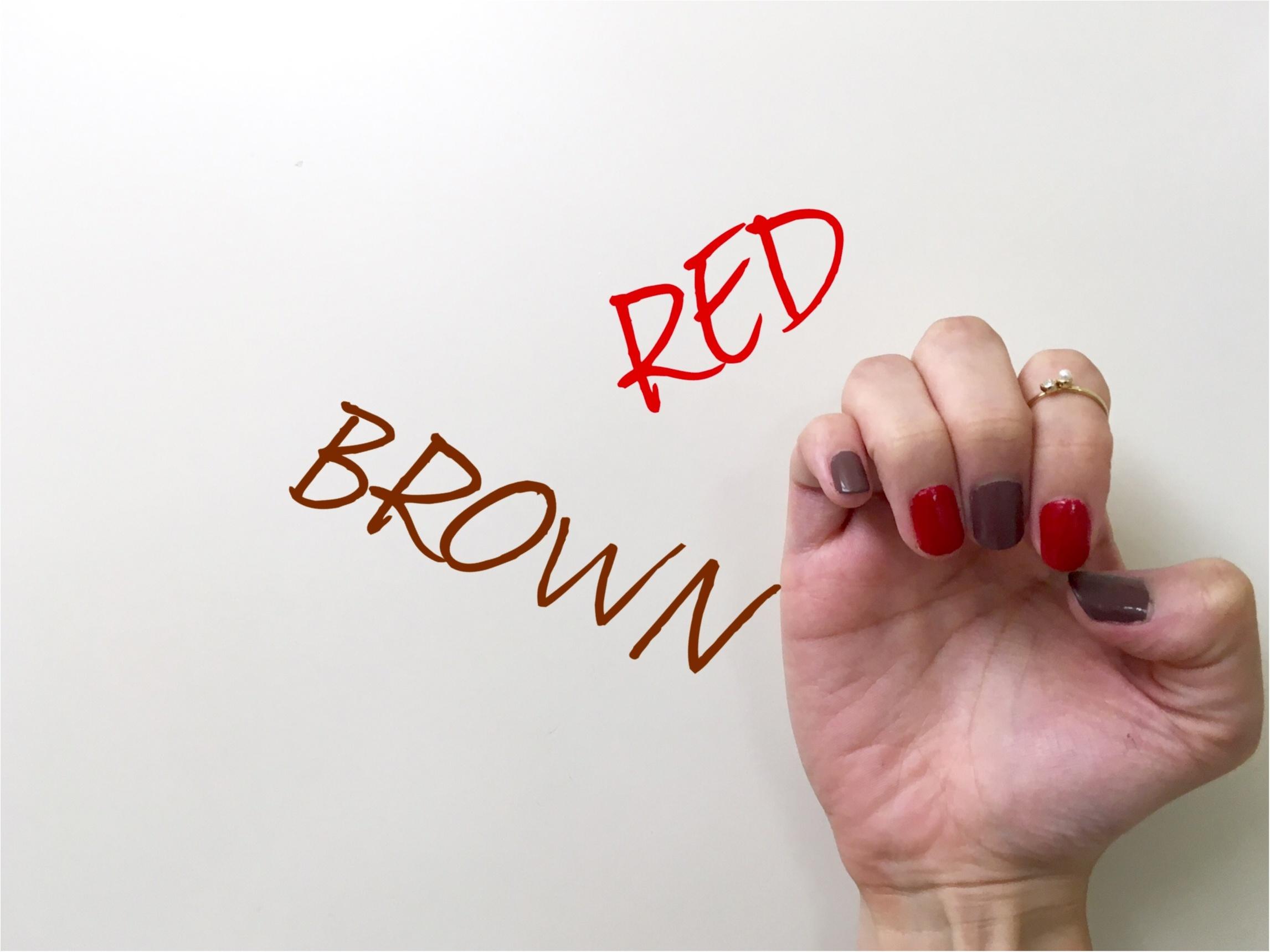▶▶夏の【モノトーンコーデ】は赤い小物とネイルを差し色に☺_4