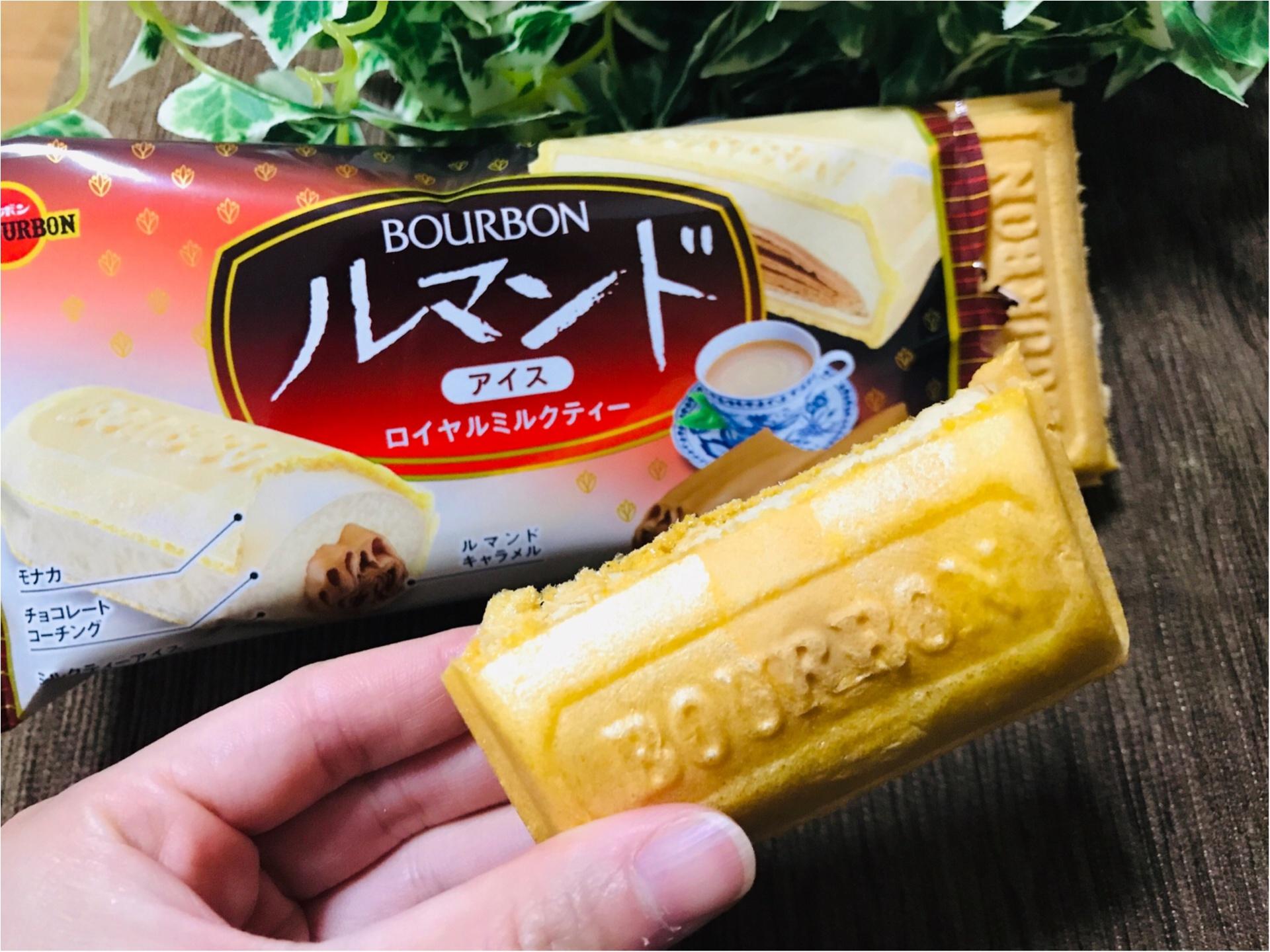 【ルマンドアイス】ついに関東に上陸!《ロイヤルミルクティ味》が前作超えの美味しさ❤︎_4