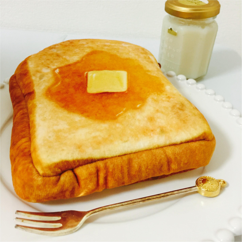 厚切りはちみつトーストにしか見えない!本物そっくりふわふわポーチ♡_2
