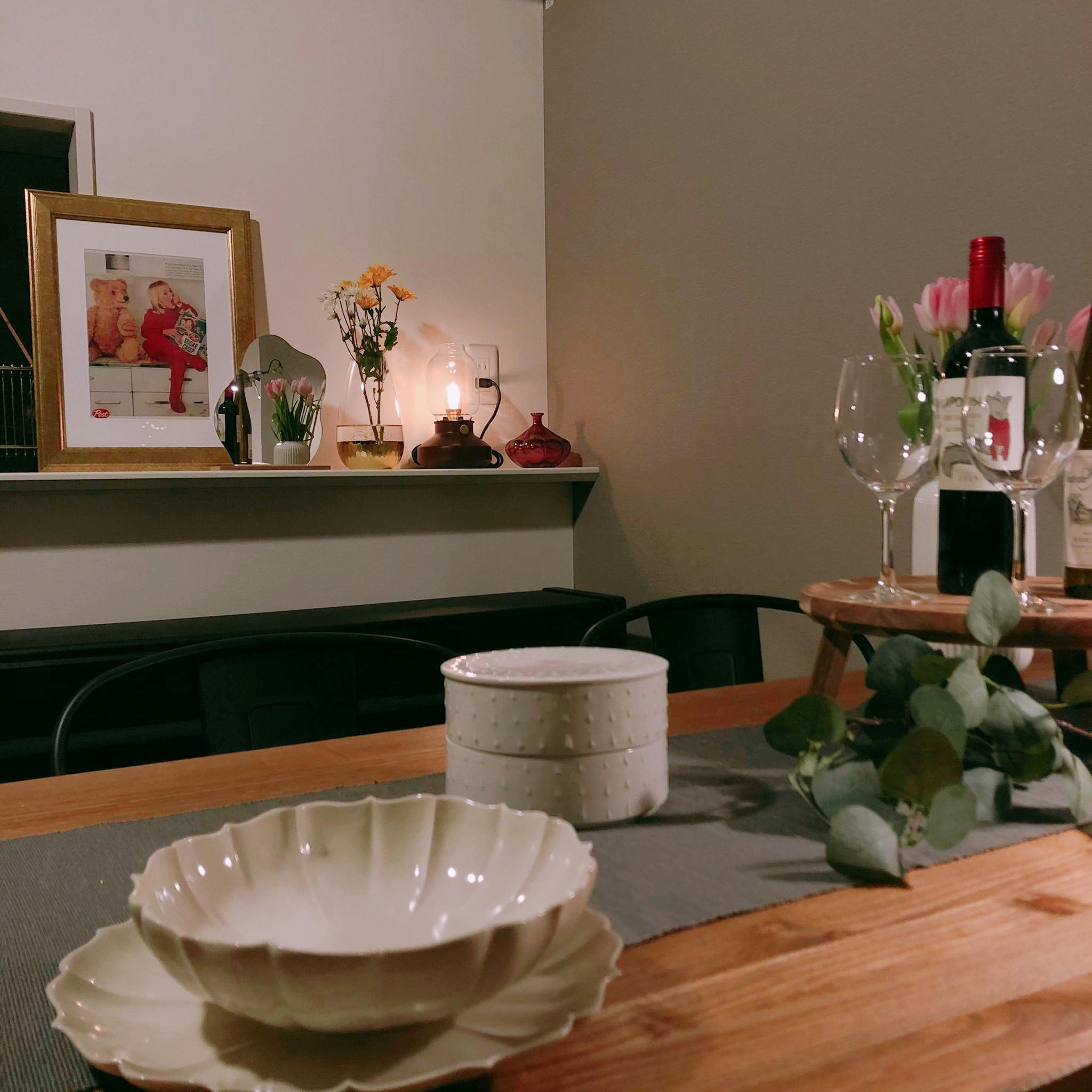 1LDKで2人暮らし。カフェのようなゆったりインテリア。夫婦で在宅勤務を乗りきる!_2