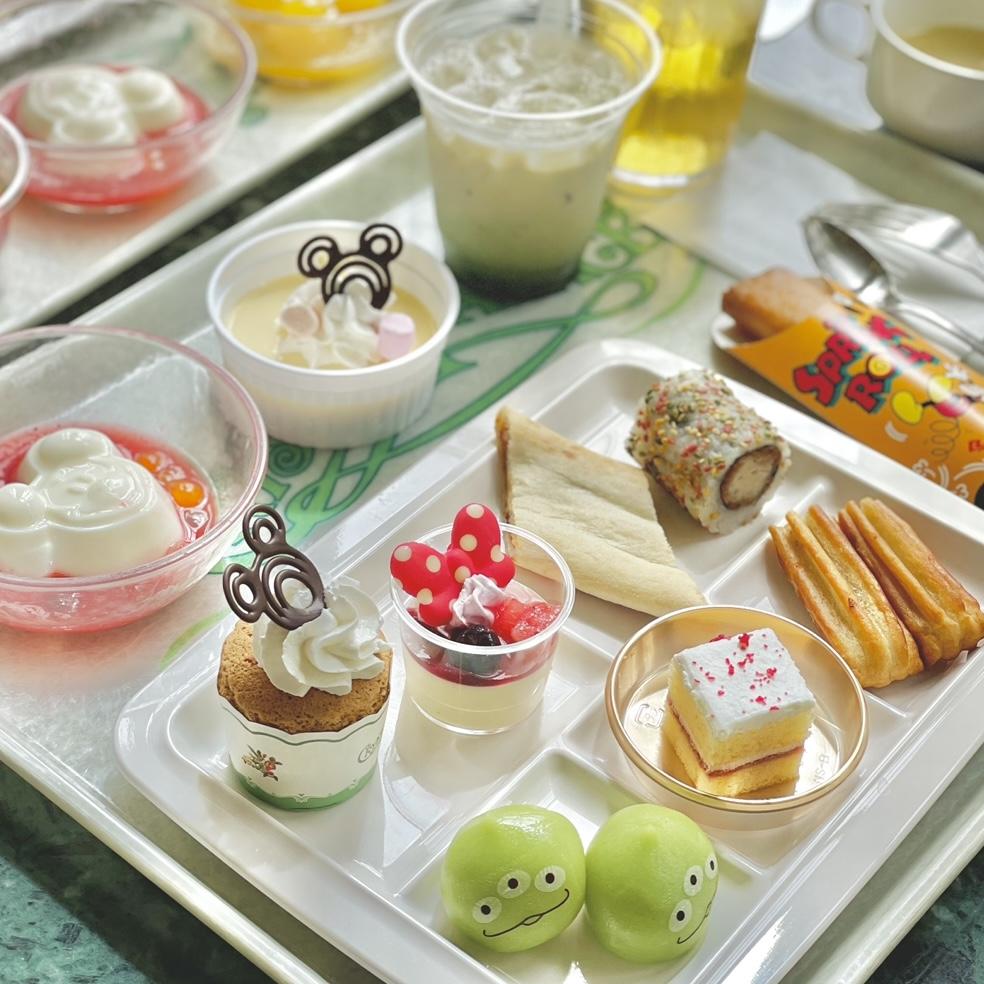 【ディズニー】パークのフード食べ放題♡_2