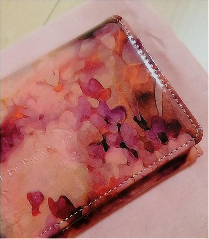 運命のお財布に出逢いました!美しすぎる・・・【ALBA】のウォレット(443 まゆ_3