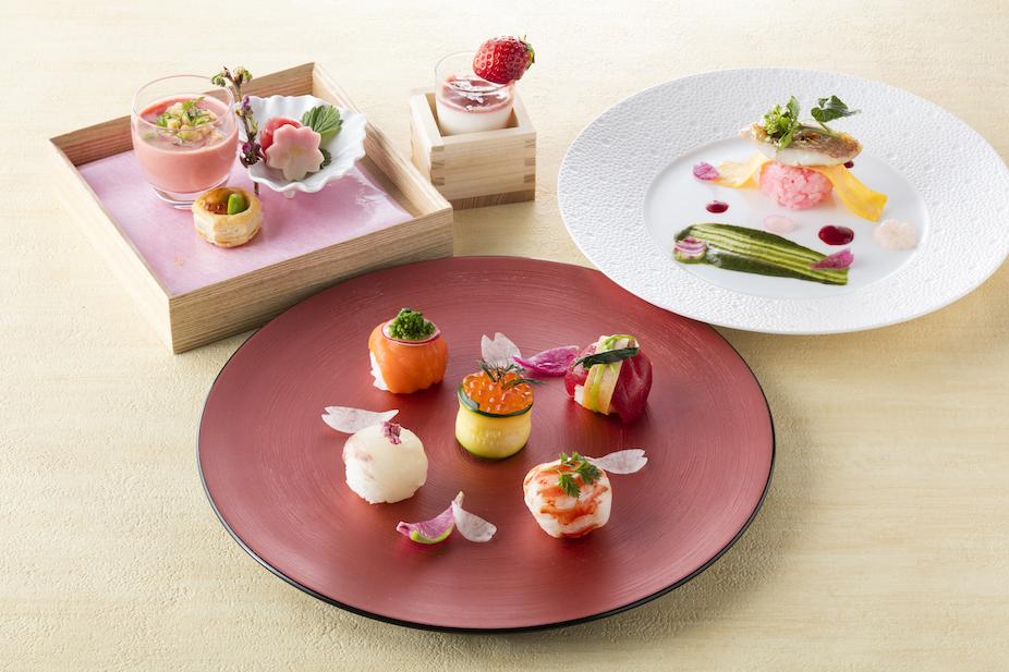 春ランチは『ヒルトン東京』で! 桜満開の寿司ランチがかわいすぎる♡_1