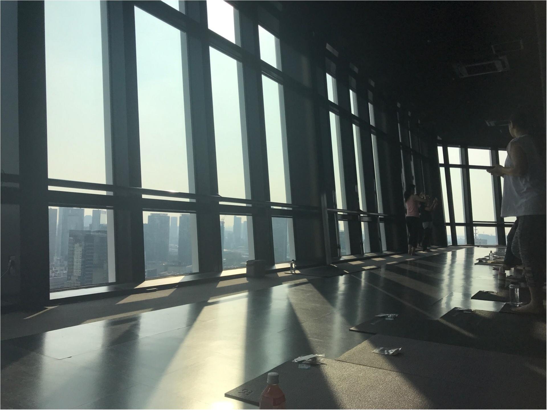【朝活】にチャレンジ!東京タワーの展望台で「眺め最高」のヨガ体験してきました♡_2